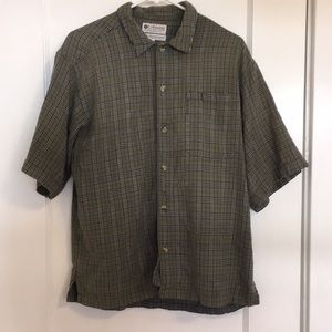 Men's Columbia Casual Short Sleeve Button Down
